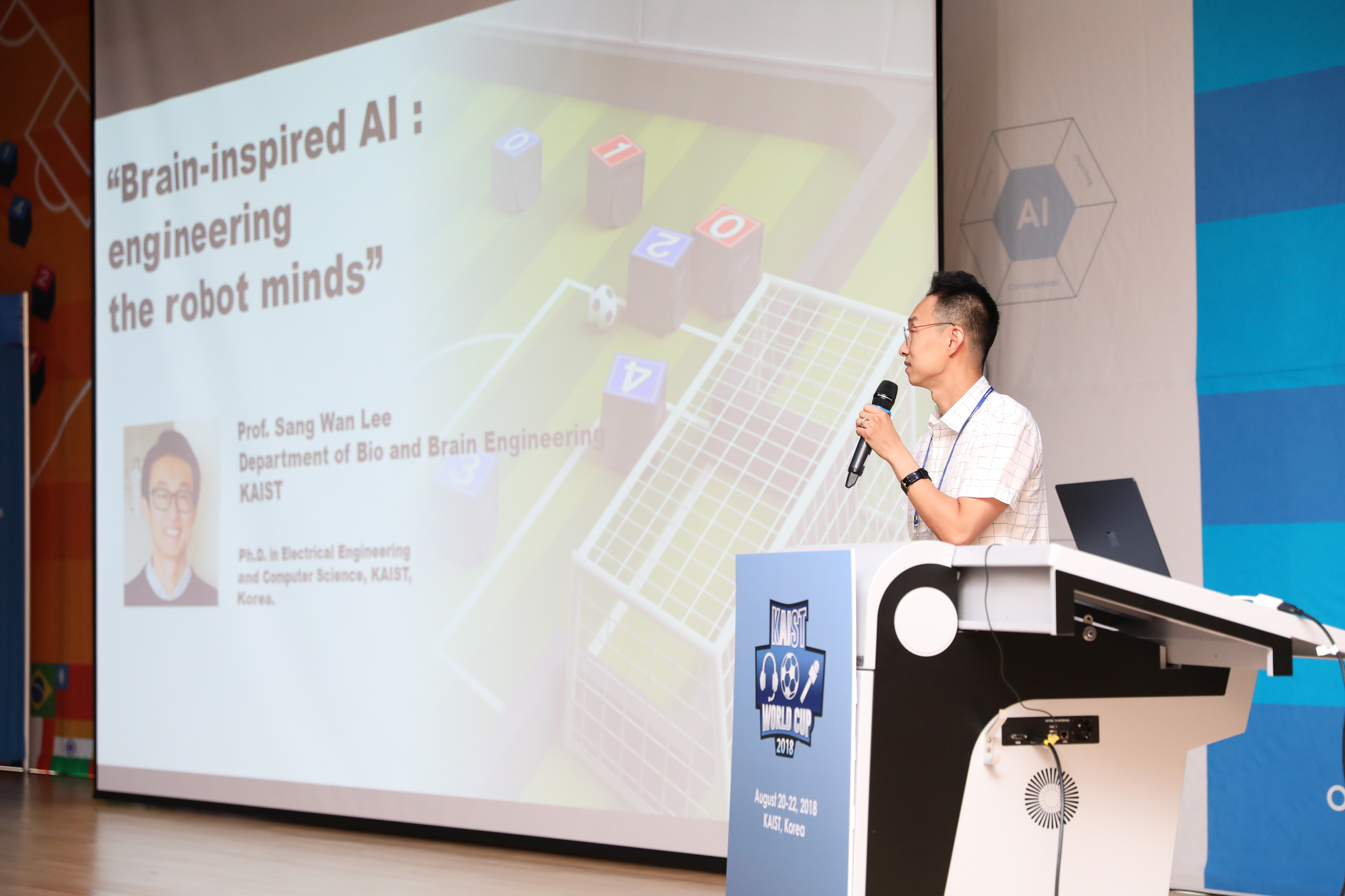 Lecture on AI Flagship : Brain-inspired AI: engineering the robot minds (by Prof. Sangwan Lee; Department of Bio and Brain Engineering, KAIST)